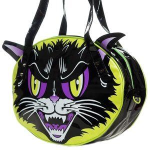 Creepsville 666 Kattitude cat purse bag